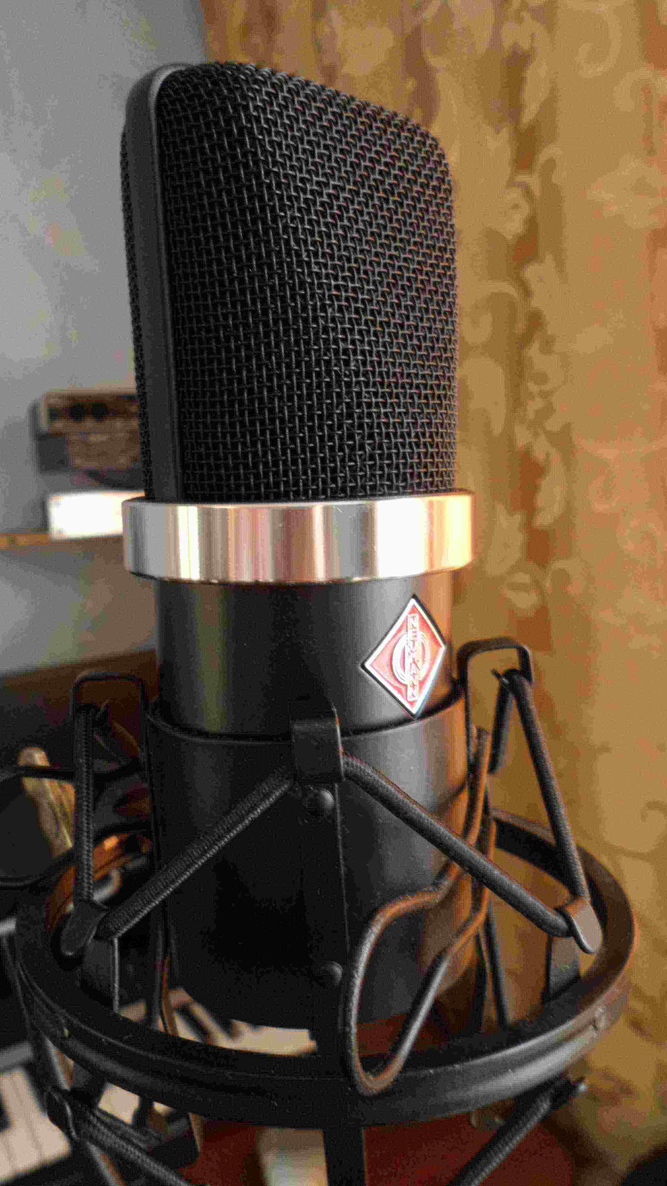 """Микрофон студийный """"Neumann TLM 10"""" (фото откроется в новом окне)"""